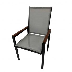 Stackable Sling Patio Chairs & Chaise Lounges